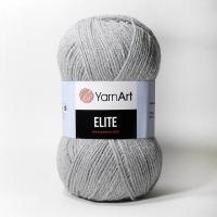 Пряжа YarnArt Elite (804 св. серый)