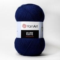 Пряжа YarnArt Elite (227 т. синий)
