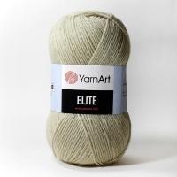 Пряжа YarnArt Elite (848 бежевый)
