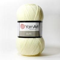 Пряжа YarnArt Elite (226 молоко)