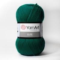 Пряжа YarnArt Elite (73 зеленый)