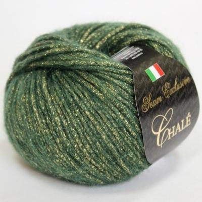 Пряжа Сеам Шале (Пряжа Сеам Шале, цвет 323 зеленый (новый цвет))