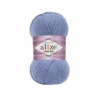 Пряжа Ализе Коттон Голд (Пряжа Ализе Коттон Голд, цвет 374 голубой меланж)