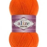 Пряжа Ализе Коттон Голд (37 оранжевый)