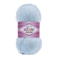 Пряжа Ализе Коттон Голд (513 кристально синий)