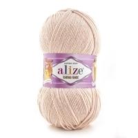 Пряжа Ализе Коттон Голд (401 бледный персик)