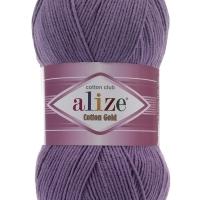 Пряжа Ализе Коттон Голд (616 фиолетовый)