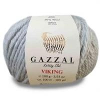 Пряжа Gazzal Viking (4011 серебряный)