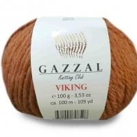 Пряжа Gazzal Viking (4020 тёмное золото)