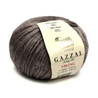 Пряжа Gazzal Viking (4002 бежево-коричневый)