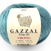 Пряжа Gazzal Viking (4005 мята)