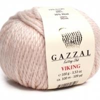 Пряжа Gazzal Viking (4006 кремовая пудра)