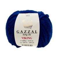 Пряжа Gazzal Viking (4017 ультрамарин)