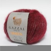 Пряжа Gazzal Queen (7219 бордо)