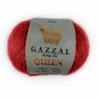 Пряжа Gazzal Queen (7212 кармин)