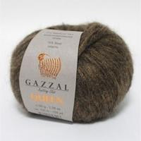 Пряжа Gazzal Queen (7224 коричнево-бежевый)