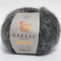 Пряжа Gazzal Queen (7334 серый)