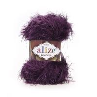 Пряжа Ализе Декофур (304 фиолетовый)
