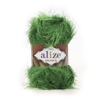 Пряжа Ализе Декофур (595 зеленый)