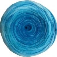 Трикотажная пряжа Сальтера (101 сине-голубой батик)