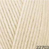 Пряжа Himalaya Hayal Lux Wool (227-03 слоновая кость)
