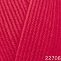Пряжа Himalaya Hayal Lux Wool (227-06 красный)