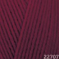 Пряжа Himalaya Hayal Lux Wool (227-07 бордо)