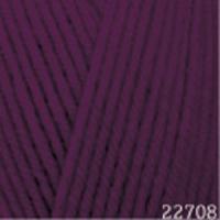 Пряжа Himalaya Hayal Lux Wool (227-08 сливовый)