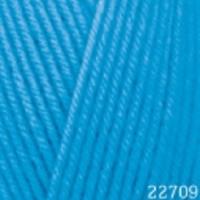 Пряжа Himalaya Hayal Lux Wool (227-09 бирюзово-голубой)
