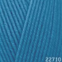Пряжа Himalaya Hayal Lux Wool (227-10 тёмно-голубой)
