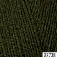 Пряжа Himalaya Hayal Lux Wool (227-38 тёмно-оливковый)