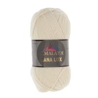 Пряжа Himalaya Lana Lux (74802 молочный)