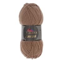 Пряжа Himalaya Lana Lux (74804 т. бежевый)