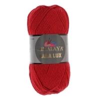 Пряжа Himalaya Lana Lux (74805 красный)