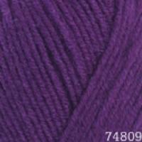 Пряжа Himalaya Lana Lux (74809 фиолетовый)