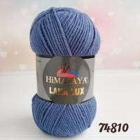 Пряжа Himalaya Lana Lux (74810 джинс)