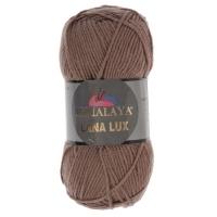 Пряжа Himalaya Lana Lux (74813 молочно-кофейный)