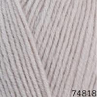 Пряжа Himalaya Lana Lux (74818 молочно-бежевый)