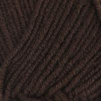 Пряжа Himalaya Lana Lux (74820 т. коричневый)