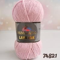 Пряжа Himalaya Lana Lux (74821 св. сиренево-розовый)