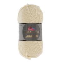 Пряжа Himalaya Lana Lux (74803 экрю)