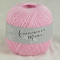 Пряжа Семеновская Крок макс (30020 розовый)