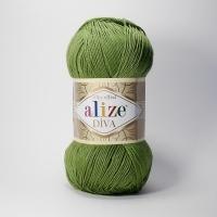 Пряжа Ализе Дива (210 зеленый)