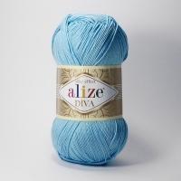 Пряжа Ализе Дива (346 светло-бирюзовый)