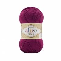 Пряжа Ализе Дива (347 ярко-синий)