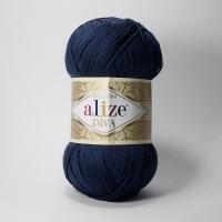 Пряжа Ализе Дива (361 темно-синий)