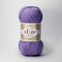 Пряжа Ализе Дива (622 фиолетовый)