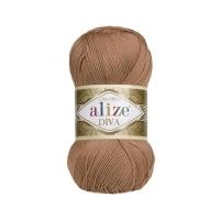 Пряжа Ализе Дива (261 св. красно-коричневый)