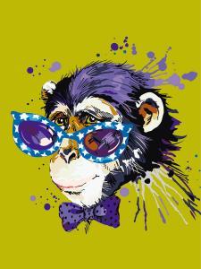 Картина по номерам  Disсo Monkey