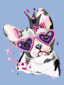 Картина по номерам ME1115 Сладкий щенок